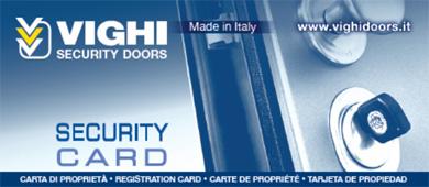 vighi security card